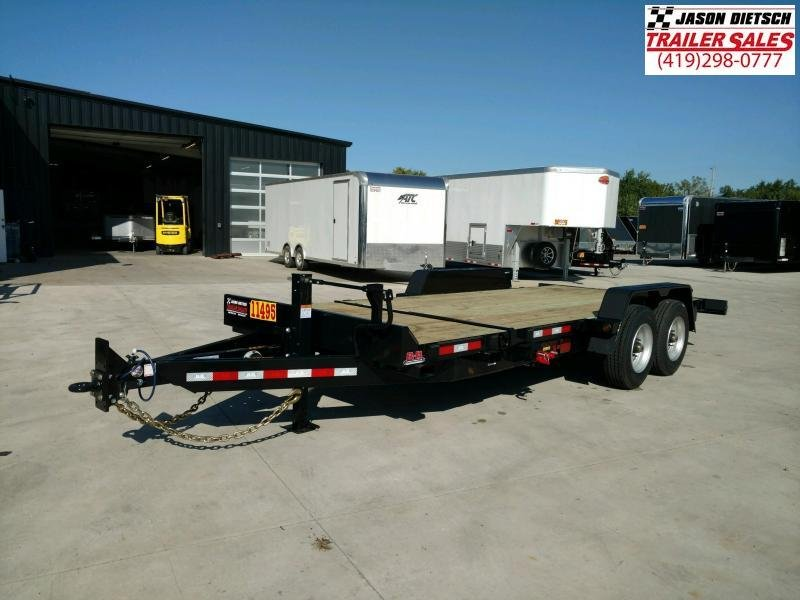 2020 Behnke 83X20 CHANNEL TILT TRAILER 20K....STOCK# BB-049874