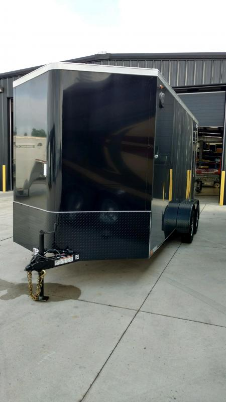 2020 Legend Manufacturing 7X18  Enclosed Cargo Trailer....STOCK# LG-7360