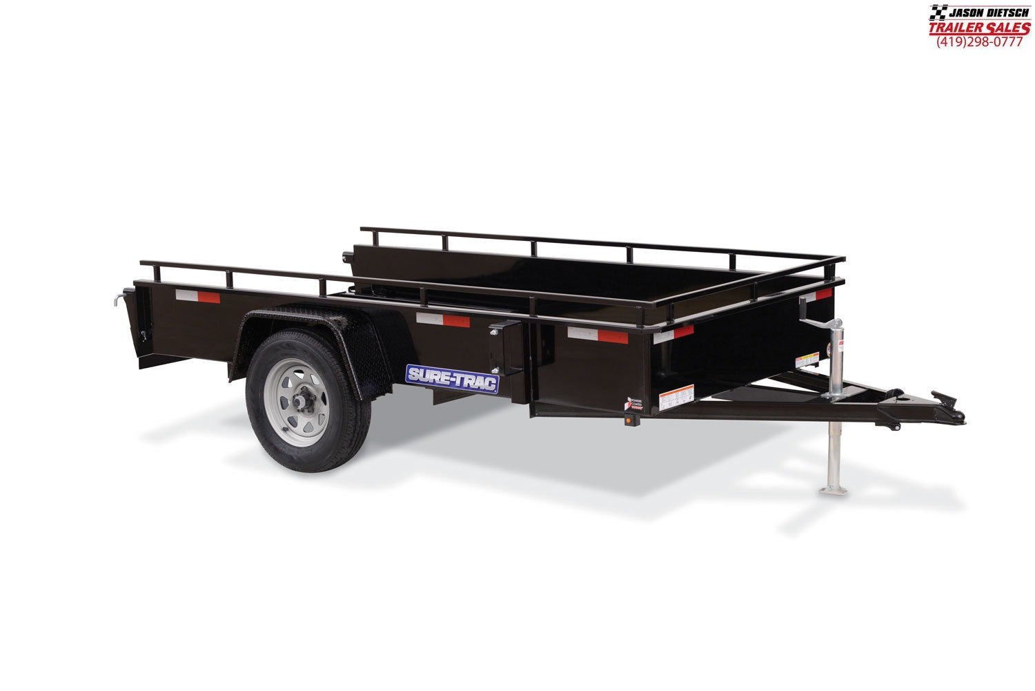 2020 Sure-Trac 6x12  High Side Utility Trailer