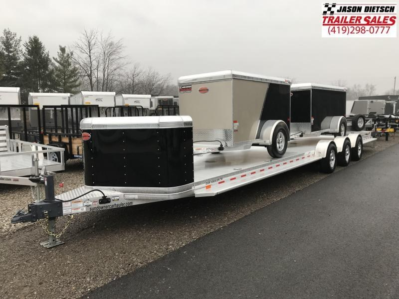 2019 Sundowner Sunlite 81X36 Open Car Hauler Trailer