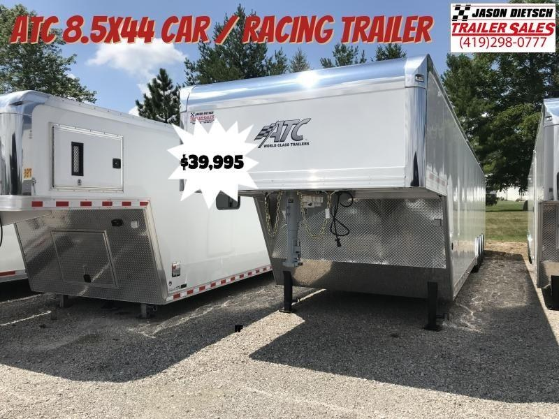 2019 ATC *ALL ALUMINUM* 8.5X44 Car / Racing Trailer...# 214469