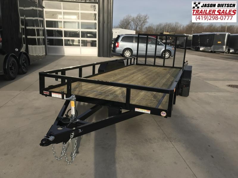 2019 Sure-Trac 7X18 Tube Top Utility....STOCK# ST-259310
