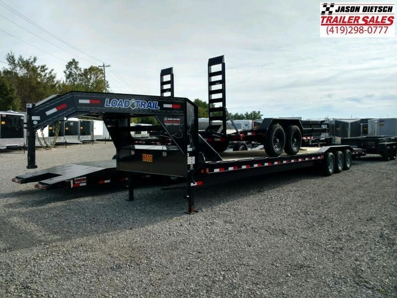 """2019 Load Trail 102"""" X 36' Triple Gooseneck Carhauler Car / Racing Trailer"""