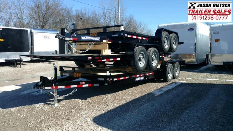 2020 Sure-Trac 7x18+4 Tilt Bed Equipment 14K
