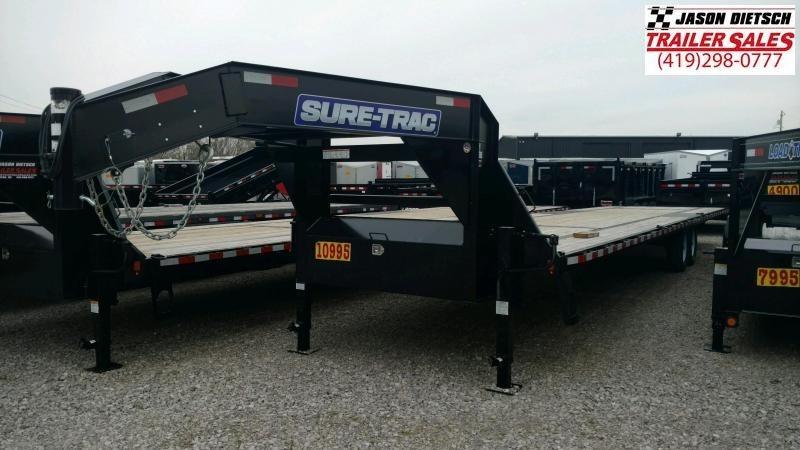 2019 Sure-Trac 8.5x36 LowPro Deckover Equipment Trailer