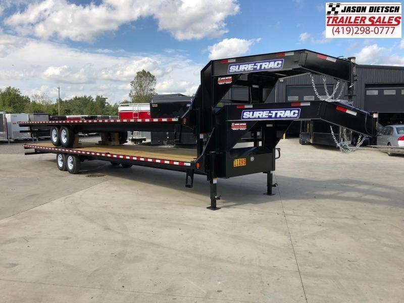 2019 Sure-Trac 8.5x36 LowPro Deckover Tandem Trailer 15K...# 250259