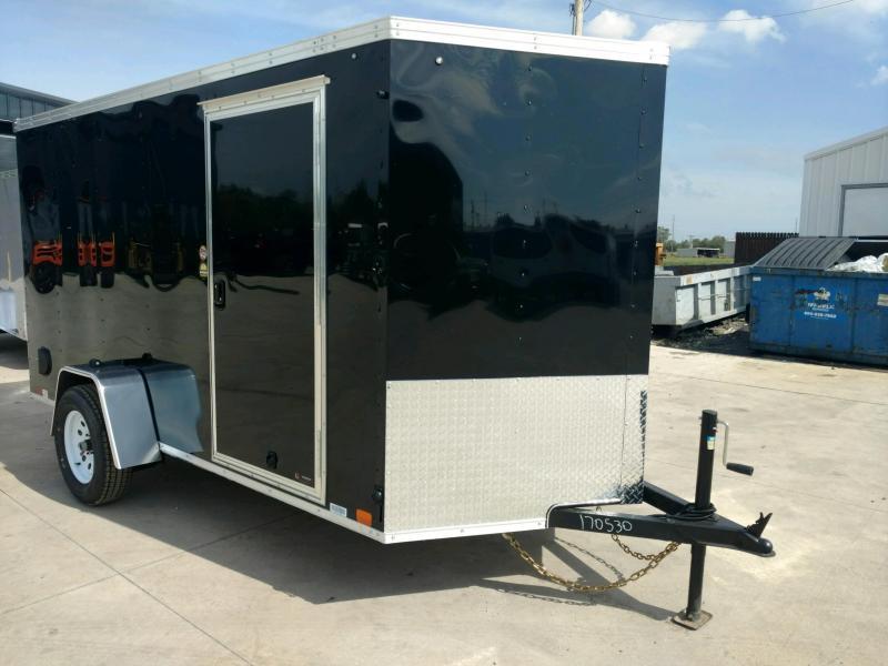 2020 United XLV 6X12 V-Nose  Enclosed Cargo Trailer....Stock# UN-170530