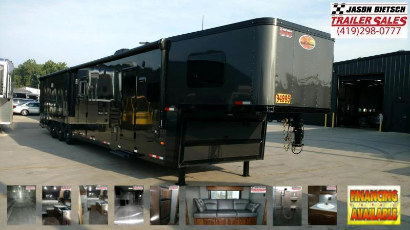 2020 Sundowner Trailers 8.5X51 Toy Hauler W/Living Quarters....STOCK # SD-JA0709