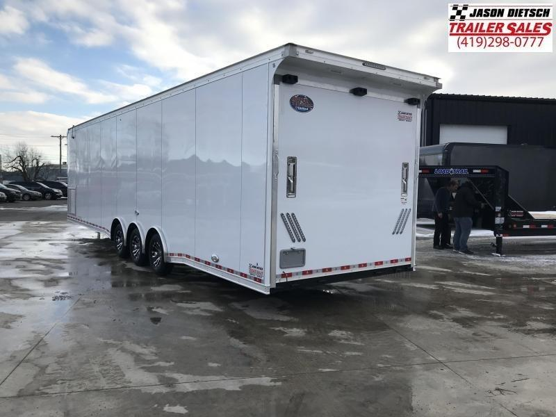 2020 United 8.5X34 Car/Racing Trailer Extra Height