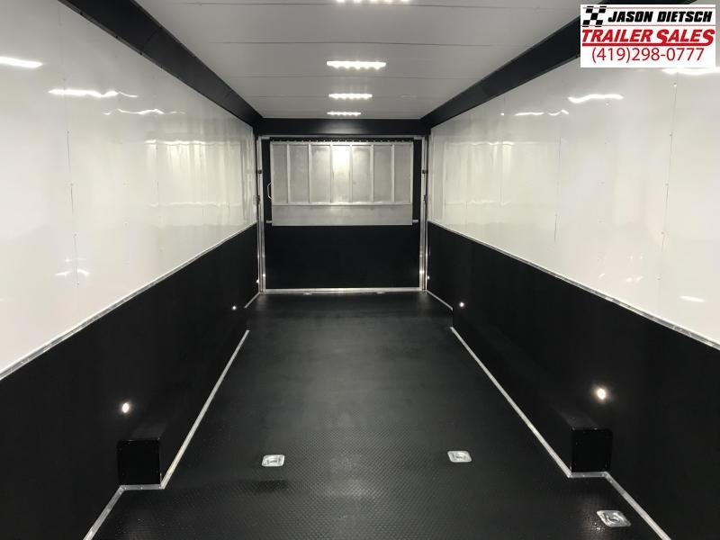 2020 United Trailers 8.5X34 EXTRA HEIGHT Car / Racing Trailer....STOCK# UN-166890