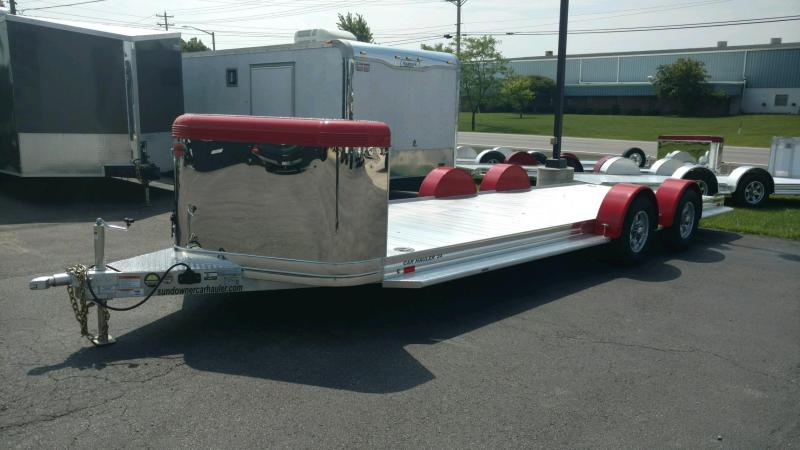 2020 Sundowner 6.9X22 Sunlite Ultra Series OPEN Car Trailer.... STOCK# SD-FA7998