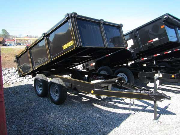 Handy Dump 6 X 10 5300 lbs Load Capacity Dump Trailer