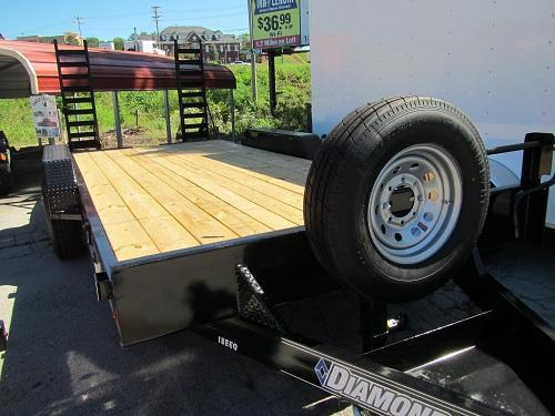 Diamond C 82 x 18 14K Equipment Trailer