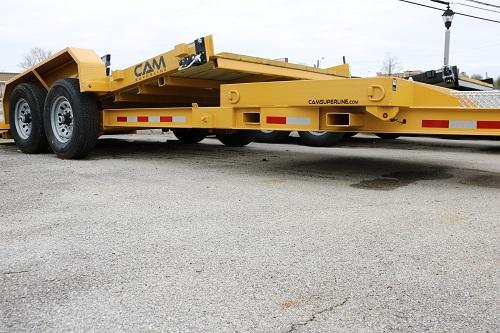 CAM 20' Split Deck 14K Equipment Trailer