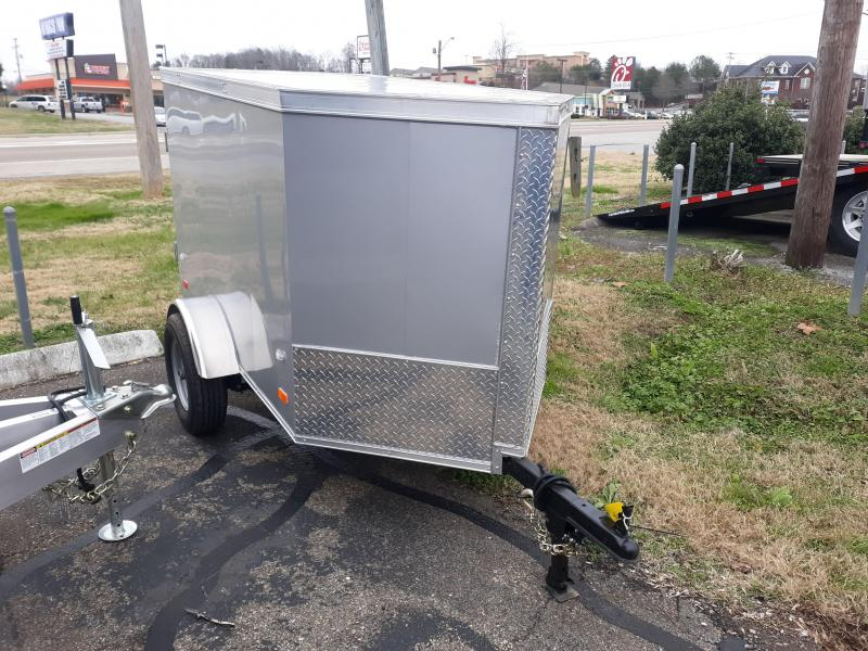 2019 Covered Wagon Trailers 4x6 Enclosed Cargo Trailer