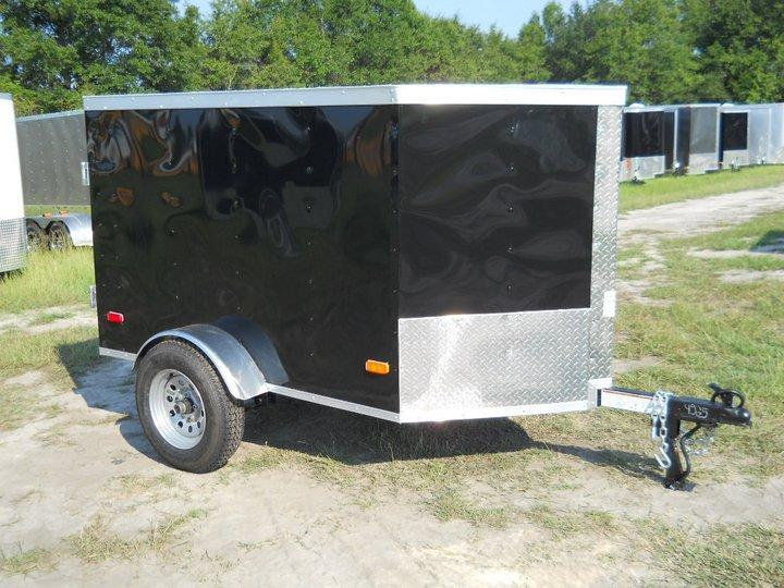 2020 Covered Wagon Trailers 4x6 Enclosed Cargo Trailer