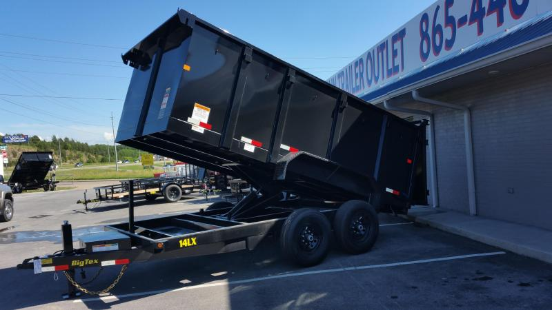 2020 Big Tex Trailers 14LX-14-4FT Dump Trailer
