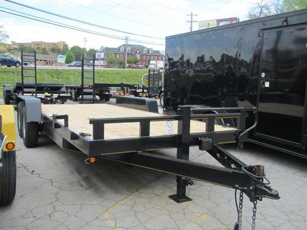 17+3 7 Ton Equipment Trailer