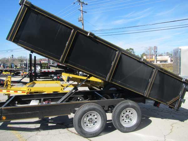 Handy Dump 6 X 12 Dump Trailer