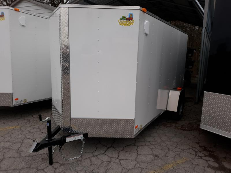 2019 COVERED WAGON 6X12 DBL DOOR