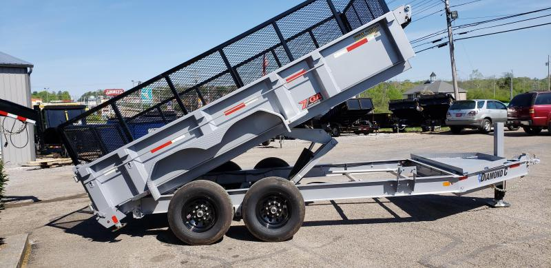 2020 Diamond C Trailers LPD207 14X82 7 GA BODY Equipment Trailer