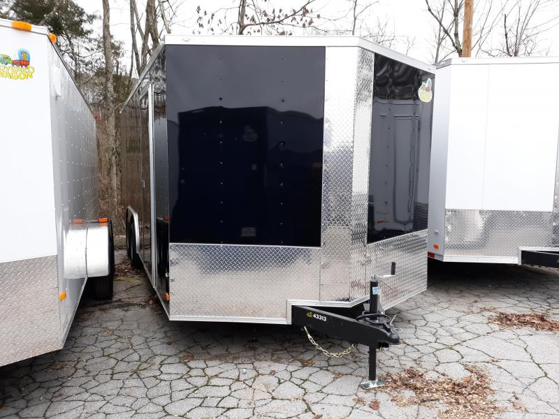 2020 COVERED WAGON 8.5X20 CARHAULER
