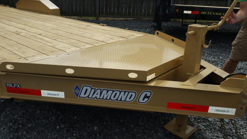 2019 Diamond C Trailers 19 LPX Equipment Trailer