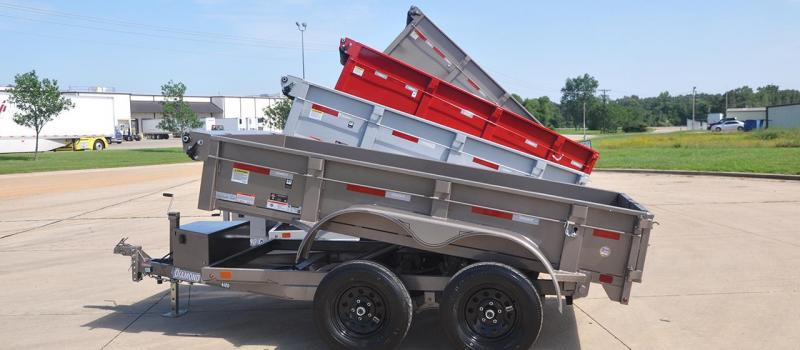 Diamond C 46ED 5 x 10 Dump Trailer