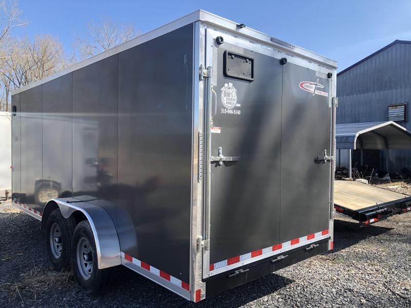 Cross 7x18 12K Enclosed Cargo Trailer w/ Ramp Door