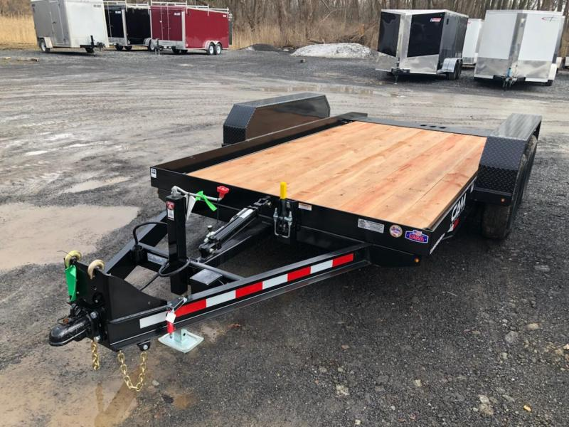 CAM Superline 7x14 Tandem Axle Tilt Trailer