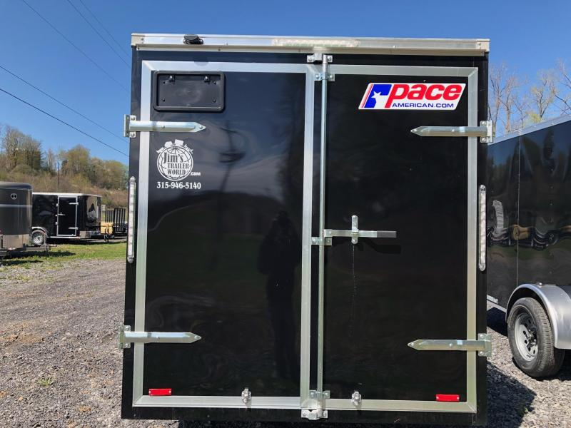 Pace American 6x10 Outback with Barn Doors