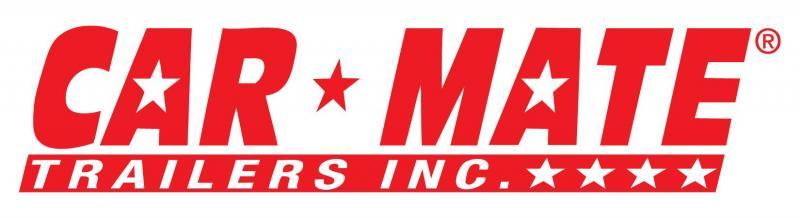Car Mate 7x12 Sportster Single Axle Cargo Trailer w/ Ramp