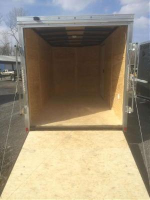 Pace 7x16 Journey SE V-Nose Cargo Trailer w/ Ramp door