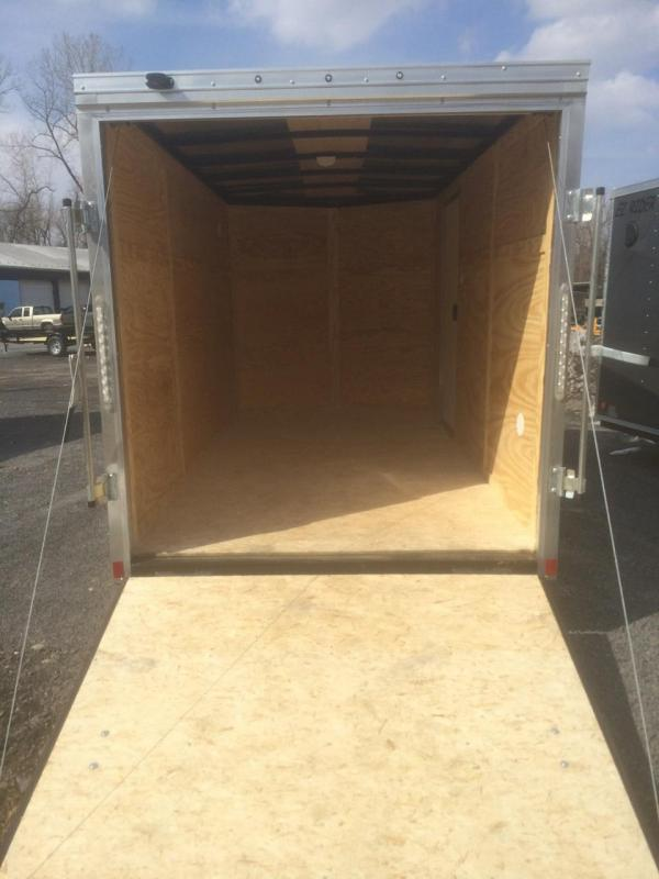 Pace American 6x10 Journey V Nose Cargo Trailer with Ramp Door