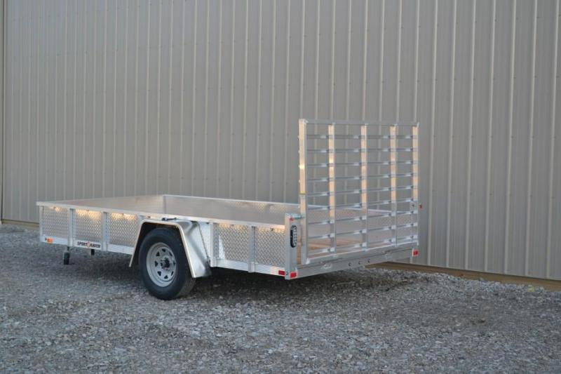 Sport Haven 5x8 Utility Trailer w/ ATP Sides