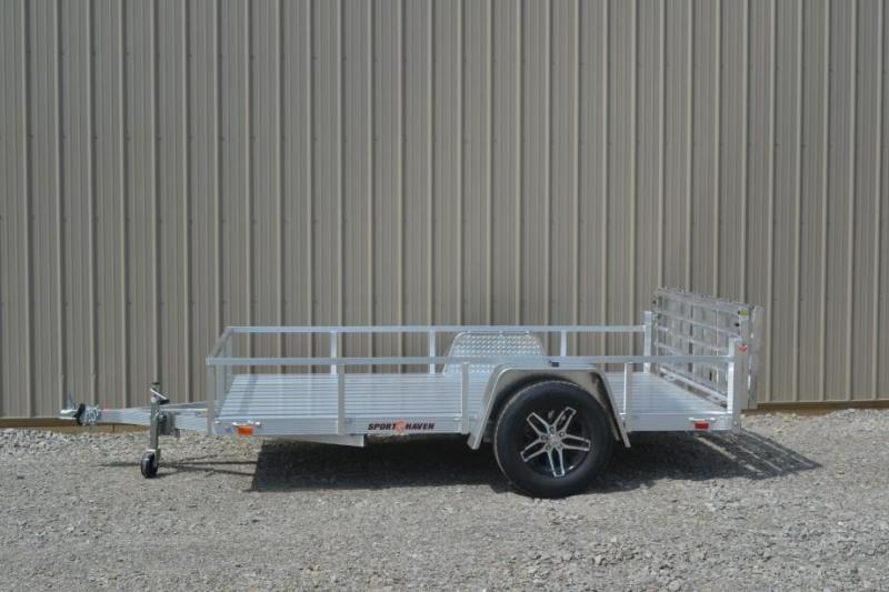 Sport Haven 5x10 Utility Trailer w/ Aluminum Deck