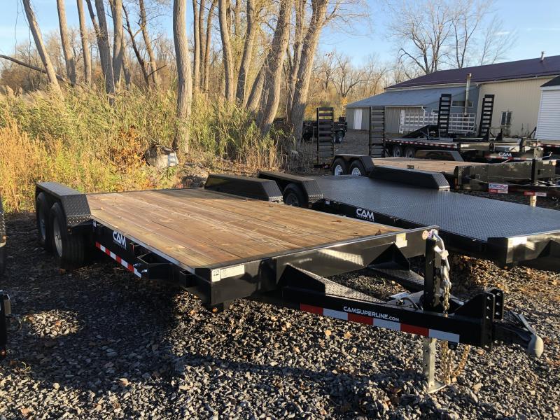 CAM Superline 7x18 Wood Deck 7K Car Hauler