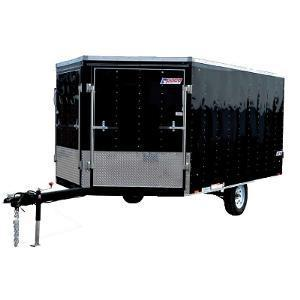 Pace American APWFT 8.5 x 12 Snowmobile Trailer