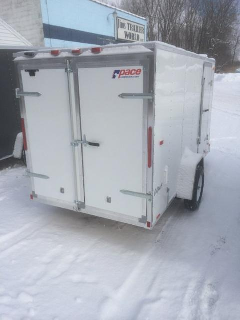Pace American 6x12 Outback Cargo Trailer w/ Barn Door