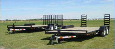 Liberty 7x18 Equipment Trailer 14K