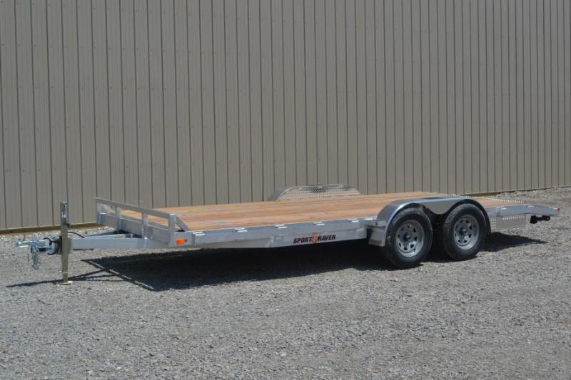Sport Haven 7x18 Tandem Axle Car Trailer