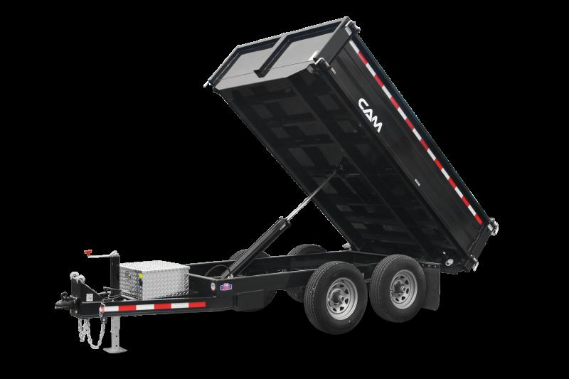 6x10 CAM Deck Over Dump Trailers 12K
