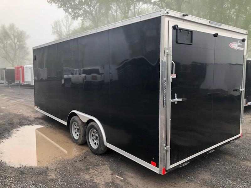 Cross Trailers 8.5x20 7K Enclosed Car Hauler Trailer w/ Ramp Door