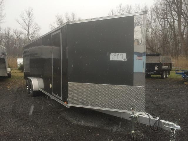 Pace American AWCF 3 Place In Line Snowmobile Trailer