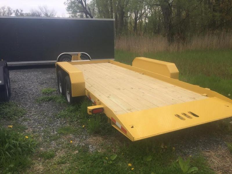 CAM 7x18 Full Deck Tilt Trailer 12K