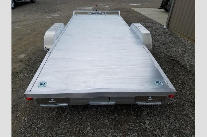 Sport Haven 7x18 Tandem Axle Car / Utility Trailer w/ Aluminum Deck