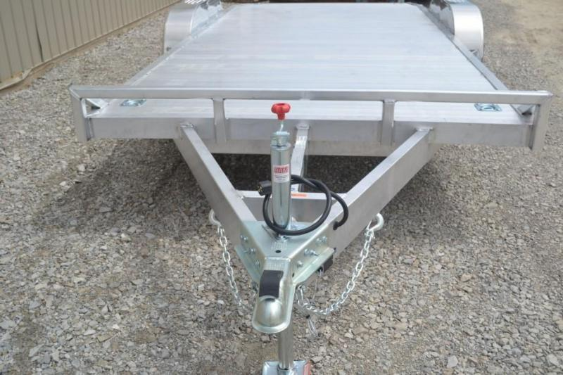 Sport Haven 7x18 Tandem Axle Car / Utility Trailer w/ Aluminum Deck