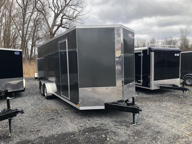 Cross 714TA Enclosed Cargo Trailer w/ Ramp Door