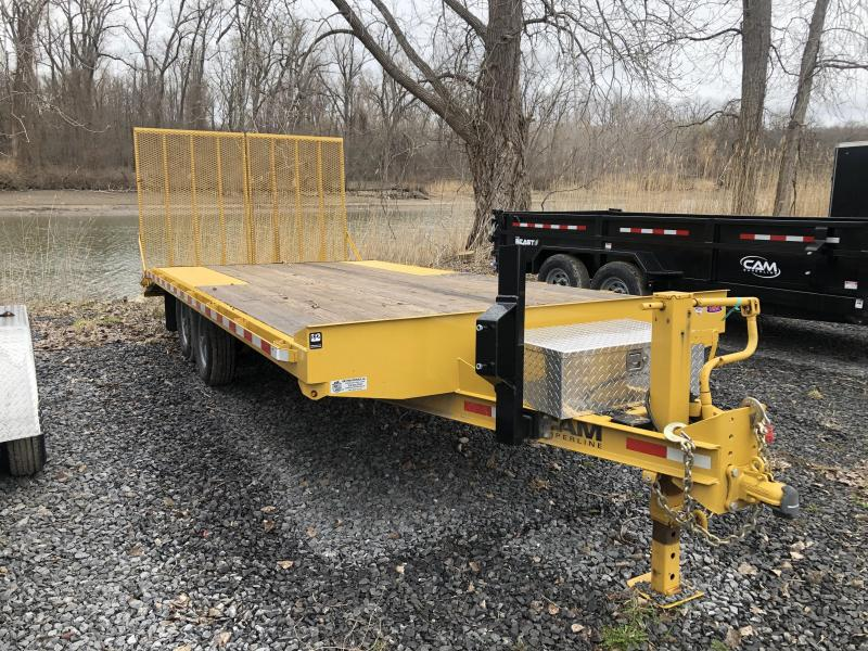 2018 Cam Superline 8' x 18' Deck Over Equipment Trailer