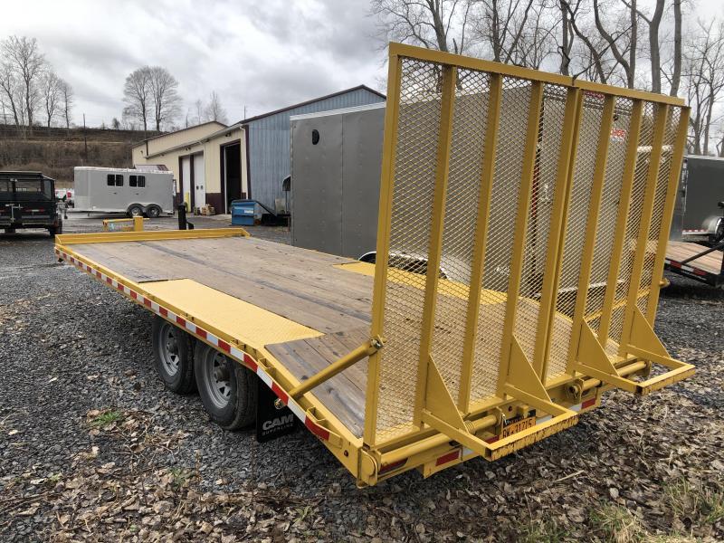 2018 Cam Superline 8' x 18' Deck Over Equipment Trailer